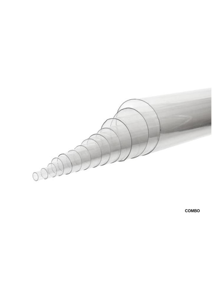Combo de tubos restrictivos de plástico-Juego de 13 piezas.